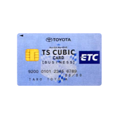 ETC TS CUBIC CARD